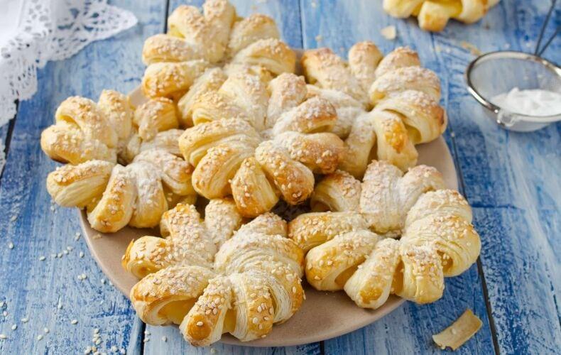 Ricetta Fiori Di Pasta Sfoglia Con Ananas