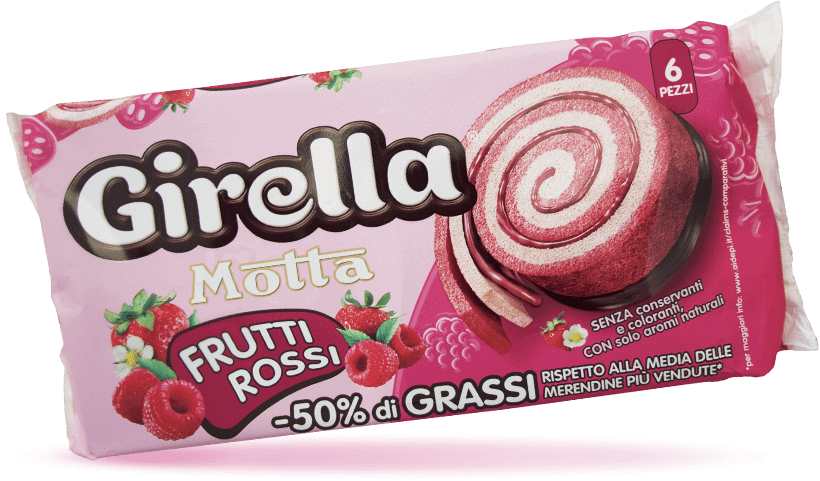 Girella Frutti Rossi Pack