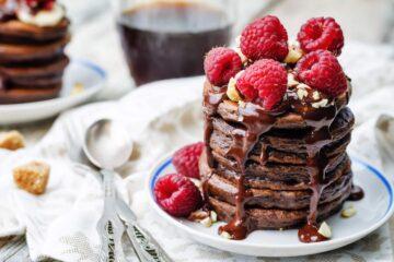 Ricetta Pancake Al Cioccolato