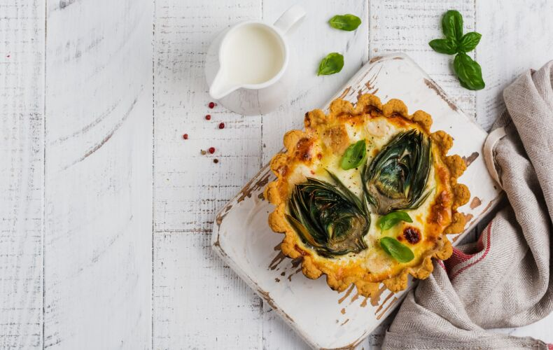 Ricetta Tartellette Ai Carciofi