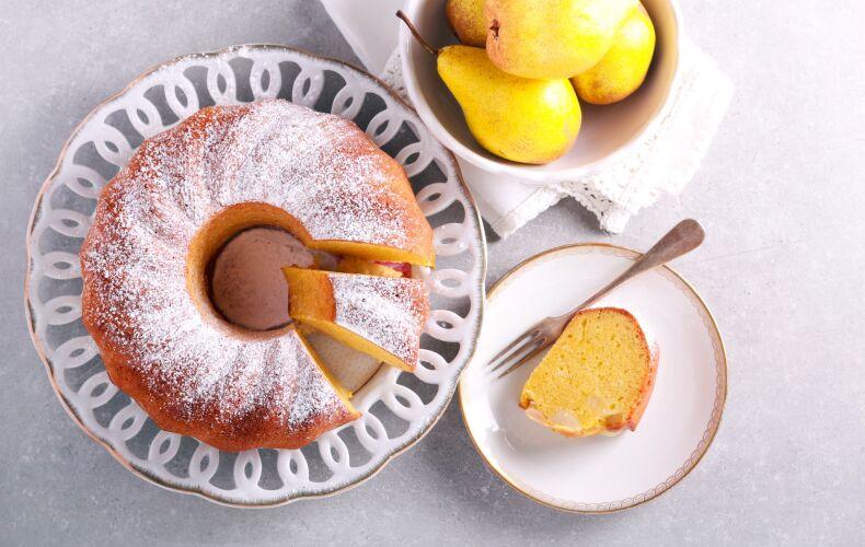 Ricetta Bundt Cake Alle Pere E Zafferano