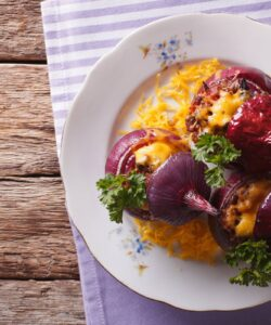 Ricetta Cipolle Ripiene Di Carne E Formaggio