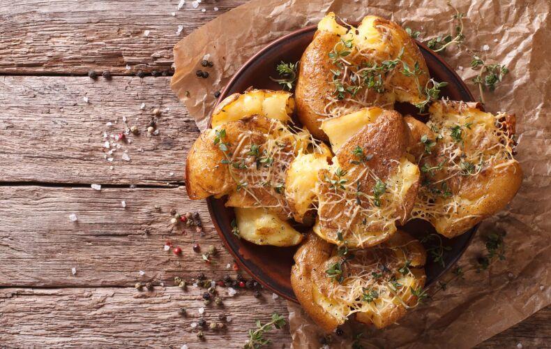 Ricetta Crash Hot Potatoes Al Formaggio