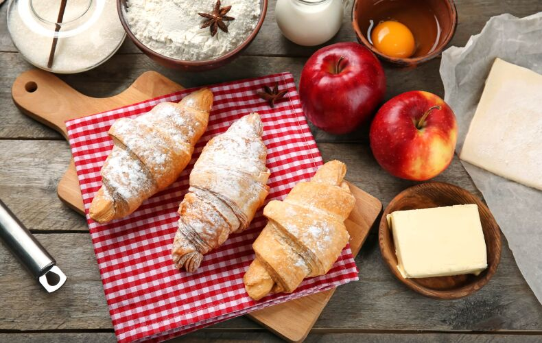 Ricetta Croissant Alle Mele