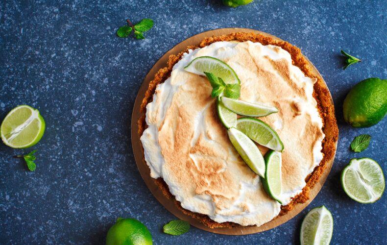 Ricetta Crostata Meringata Al Lime