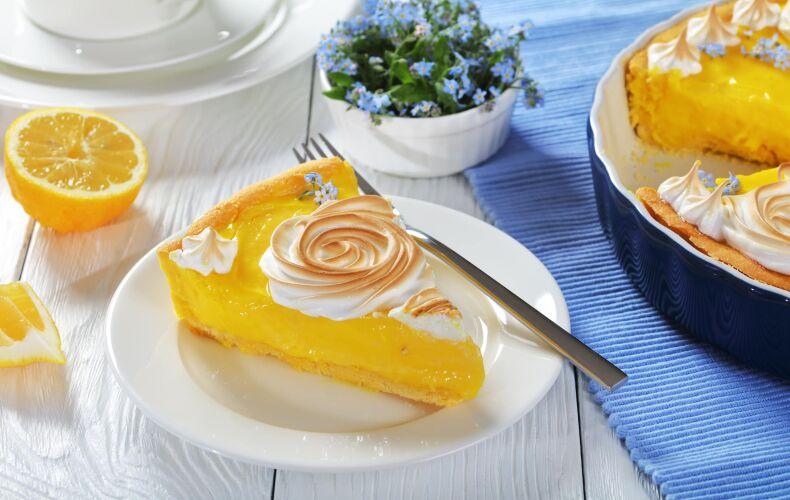 Ricetta Crostata Meringata Con Curd Di Limone