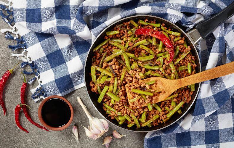 Ricetta Fagiolini In Umido Con Carne Macinata
