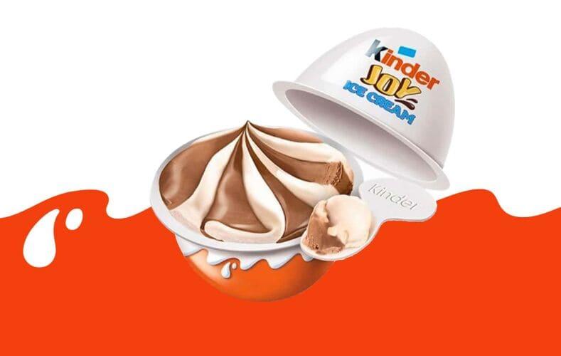 Kinder Joy Ice Cream Ovetto Kinder Gelato