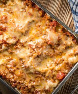 Ricetta Lasagne Con Ragu Di Salsiccia