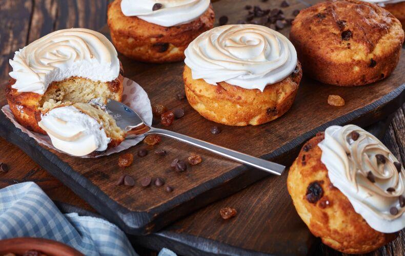 Ricetta Muffin Meringati