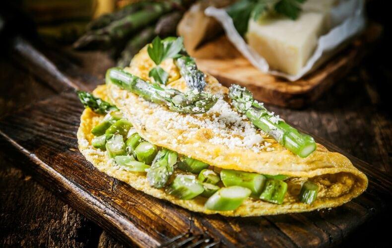 Ricetta Omelette Agli Asparagi E Crema Di Formaggi