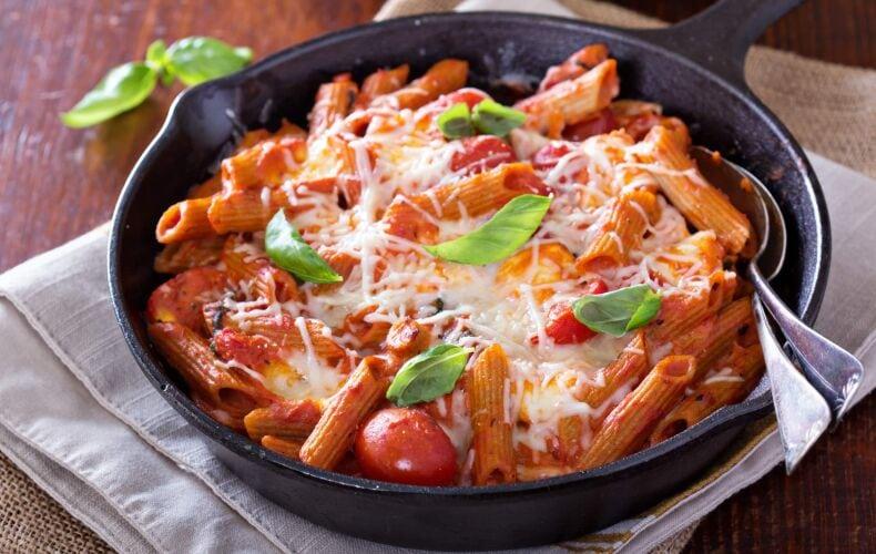 Ricetta Pasta Al Forno Pomodoro E Mozzarella