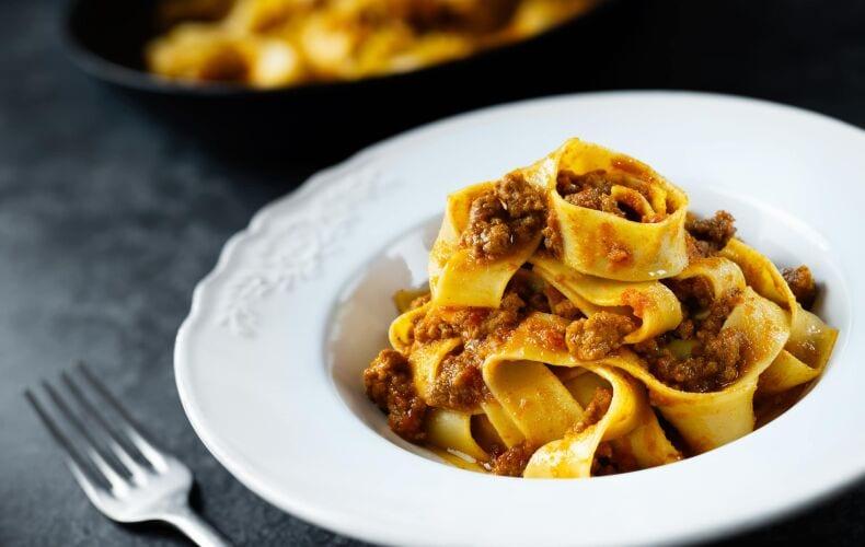 Ricetta Pasta Al Ragu Di Agnello