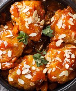 Ricetta Pollo Al Forno Con Salsa Di Albicocche