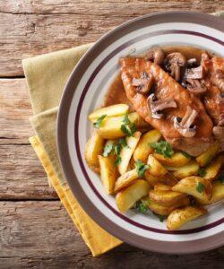 Ricetta Pollo Al Marsala Con I Funghi