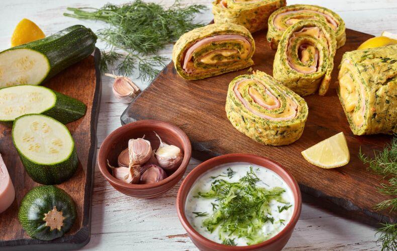 Ricetta Rotolo Frittata Alle Zucchine Con Prosciutto E Formaggio