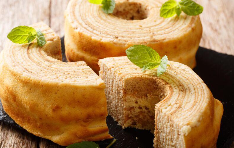 Ricetta Torta Albero Baumkuchen