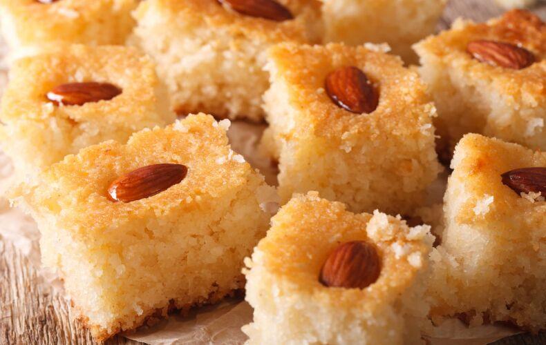 Ricetta Torta Di Mandorle Basbousa