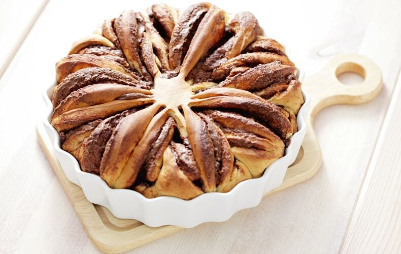 Ricetta Torta Di Pan Brioche Alla Nutella