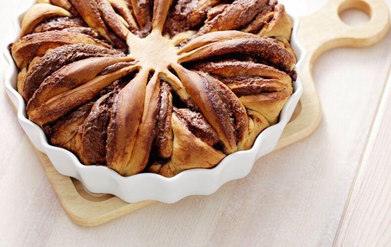 Ricetta Torta Di Pan Brioche Alla Nutella Yeast Cake