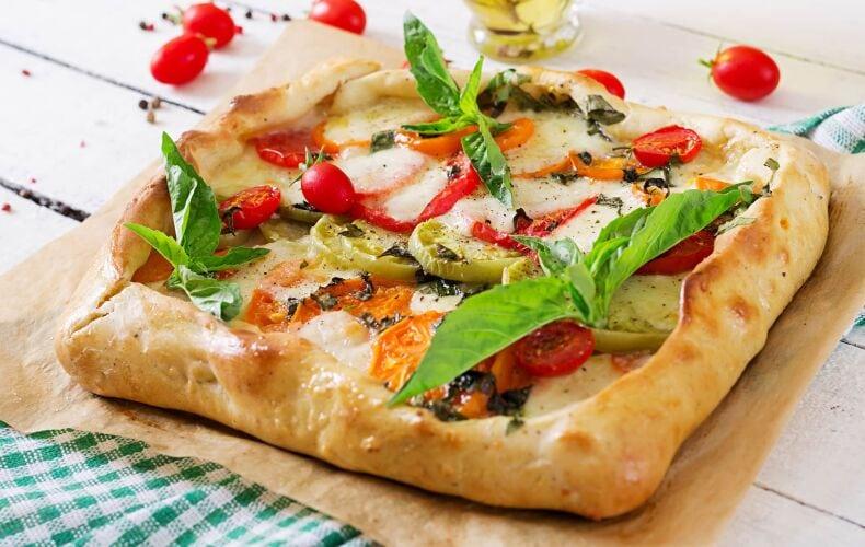 Ricetta Torta Salata Con Pomodori E Mozzarella Caprese