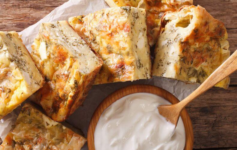 Ricetta Torta Salata Serba Gibanica
