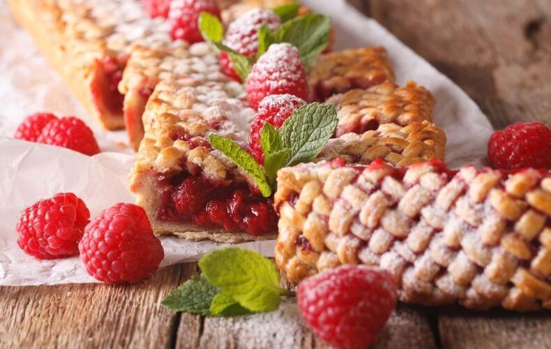 Ricetta American Raspberry Pie