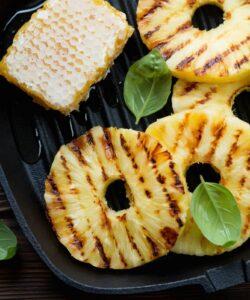 Ricetta Ananas Alla Piastra