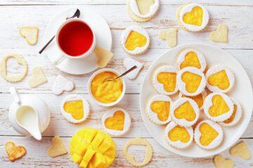 Ricetta Biscotti Con Marmellata Al Mango