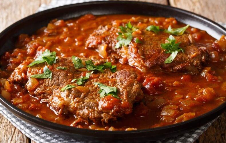Ricetta Bistecca Al Pomodoro