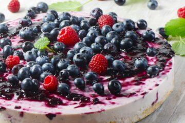 Ricetta Cheesecake Ai Mirtilli