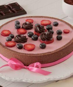 Ricetta Cheesecake Sweet Mama Fragole Cioccolato Yogurt
