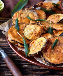 Ricetta Chips Di Melanzane