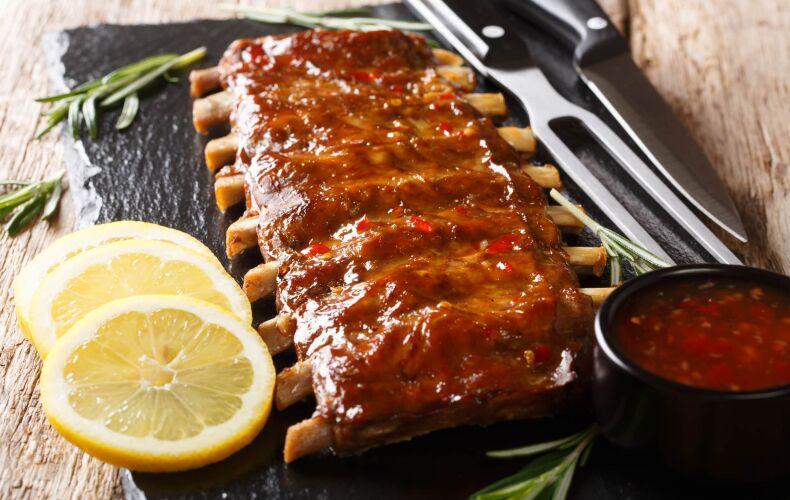 Ricetta Costine Di Maiale Alla Griglia In Salsa Barbecue