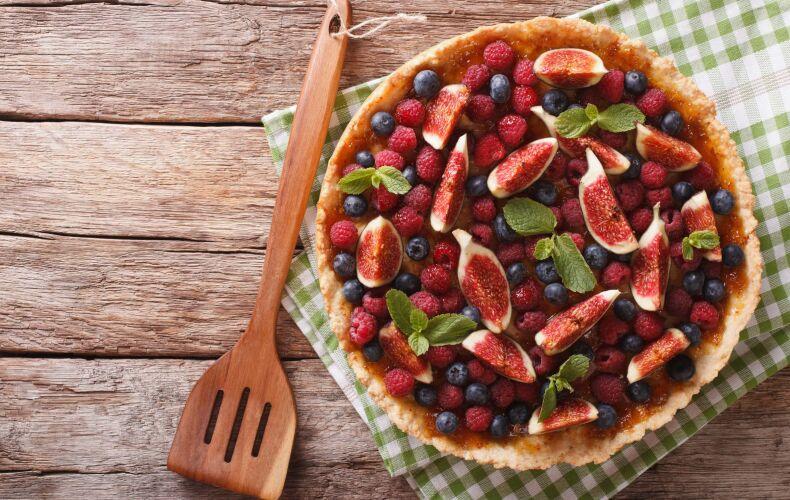 Ricetta Crostata Ai Fichi E Frutti Di Bosco