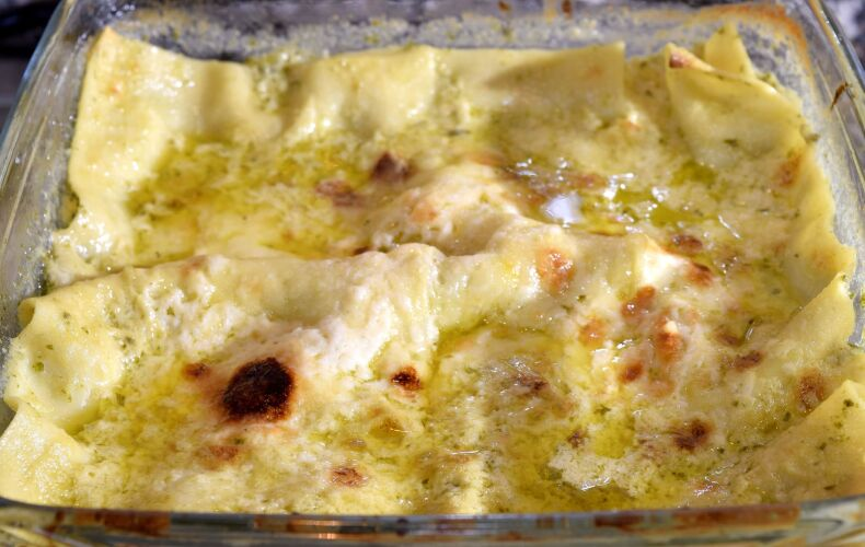 Ricetta Lasagne Con Pesto Alla Genovese