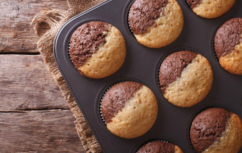 Ricetta Muffin Bicolore