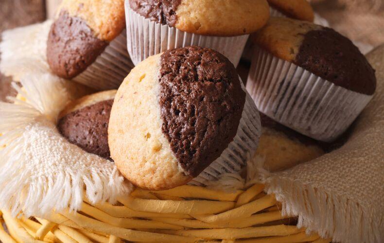 Ricetta Muffin Bicolore Vaniglia Cacao
