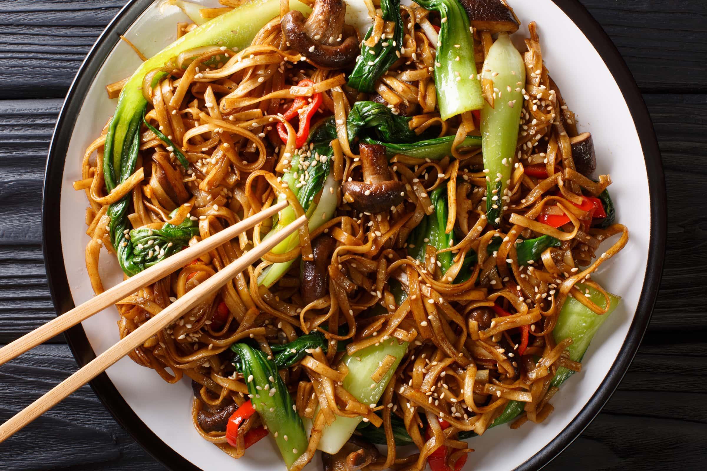 Ricetta Noodles Con Verdure E Carne.Ricetta Noodles Con Pak Choi E Funghi Shiitake Il Club Delle Ricette