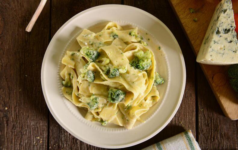 Ricetta Pappardelle Con Gorgonzola E Broccoli
