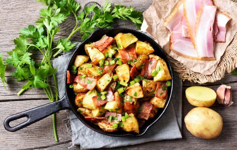 Ricetta Patate In Padella Bacon
