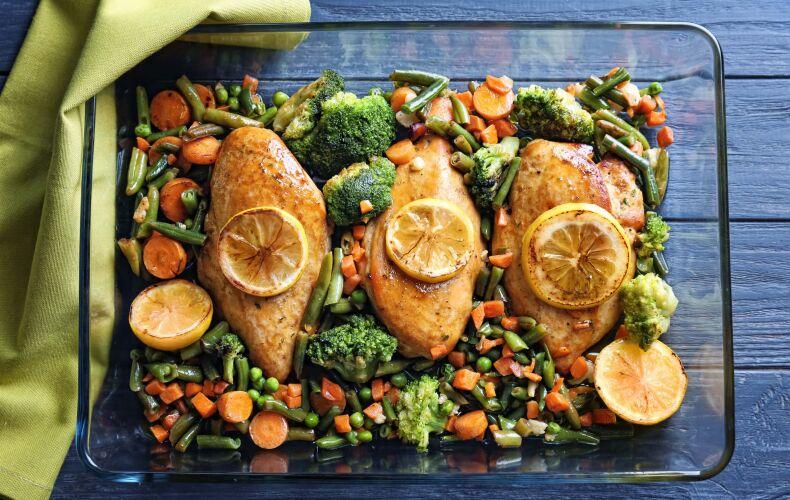 Ricetta Petto Di Pollo Al Forno Con Verdure