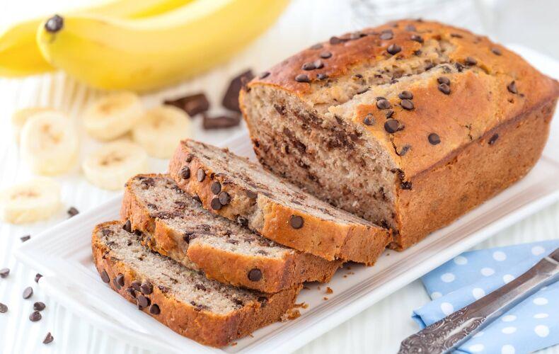 Ricetta Plumcake Alla Banana Con Gocce Di Cioccolato