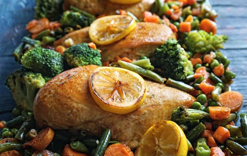 Ricetta Pollo Al Forno Con Verdure