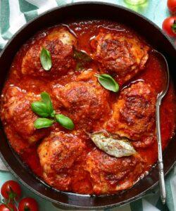 Ricetta Pollo Al Pomodoro