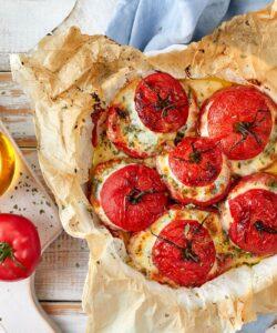 Ricetta Pomodori Al Forno Al Pecorino