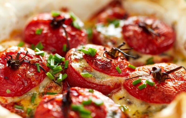 Ricetta Pomodori Al Forno Ripieni Pecorino