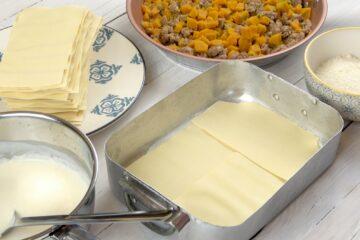 Ricetta Preparazione Lasagne Zucca E Salsiccia 8