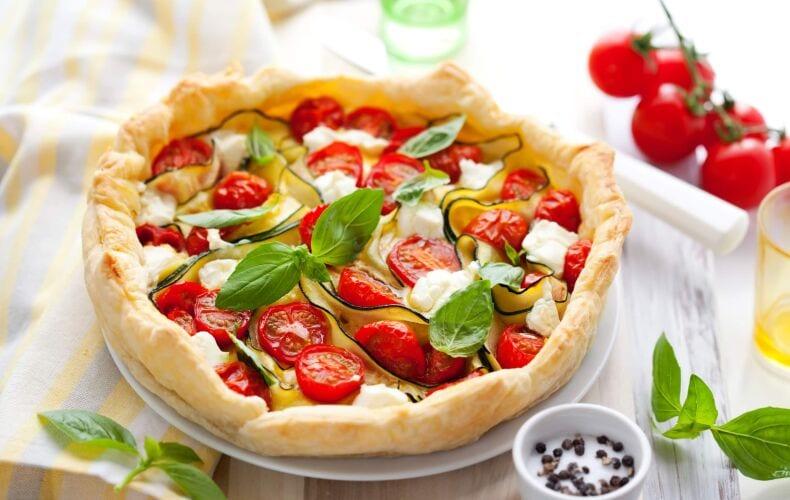 Ricetta Quiche Zucchine Pomodorini