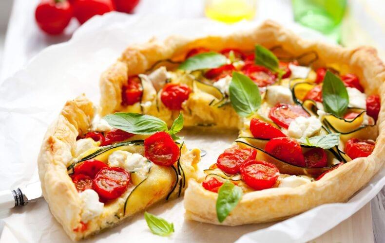 Ricetta Quiche Zucchine Pomodorini Burrata